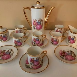 Other - Antique victorian mini China tea set